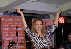 Η Νατάσα Θεοδωρίδου στο Public