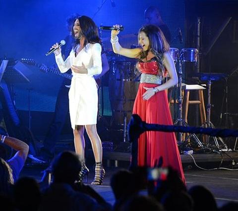 Άννα Βίσση και Conchita Wurst