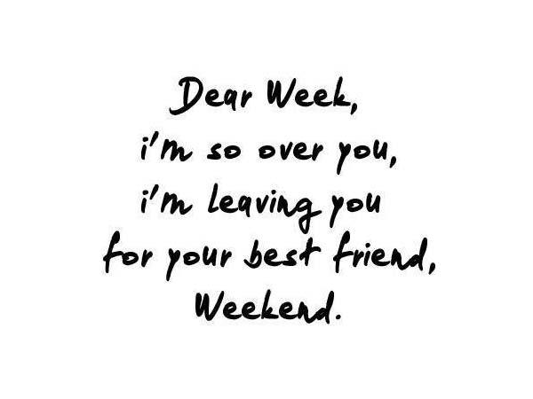 τραγούδια για το Σαββατοκύριακο