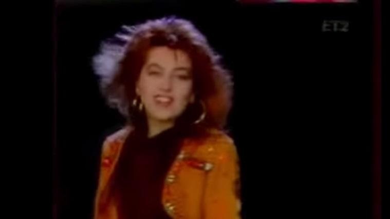 Flashback: Η Καίτη Γαρμπή στο πρώτο της βίντεο κλιπ πριν από 25 (!) χρόνια!