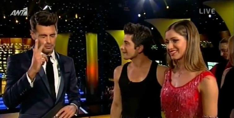 Το ξεκαρδιστικό σαρδάμ του Κώστα Μαρτάκη στο Dancing With The Stars!