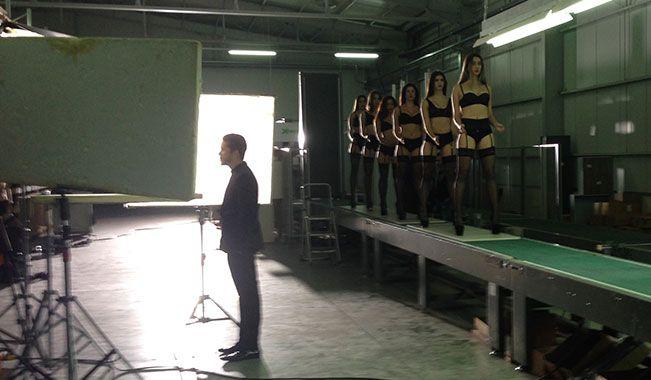 """Στα γυρίσματα του νέου βίντεο κλιπ του Νίκου Οικονομόπουλου """"Ποτέ""""!"""