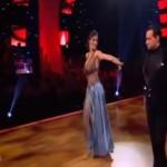 #dwts5: Ελισάβετ Σπανού & Ηλίας – Βιεννέζικο Βαλς (Βίντεο)