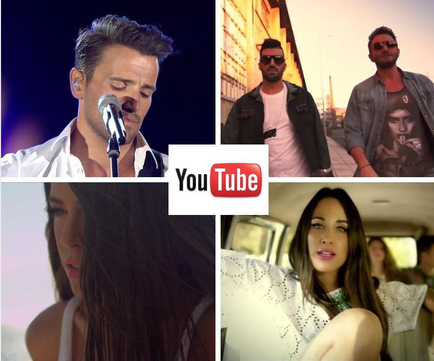 Τα 15 ελληνικά βίντεο κλιπ με τις περισσότερες προβολές στο YouTube για το 2014!