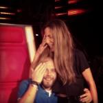 Δέσποινα Βανδή: Πήγε να βάλει… μαλλί, στον Μιχάλη των Stavento! (Φωτό) #thevoicegr