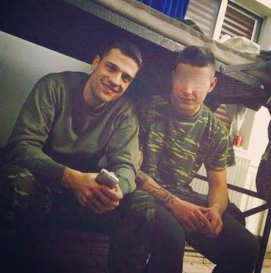 Ακόμα μια φωτογραφία του Κωνσταντίνου Αργυρού από το στρατόπεδο.