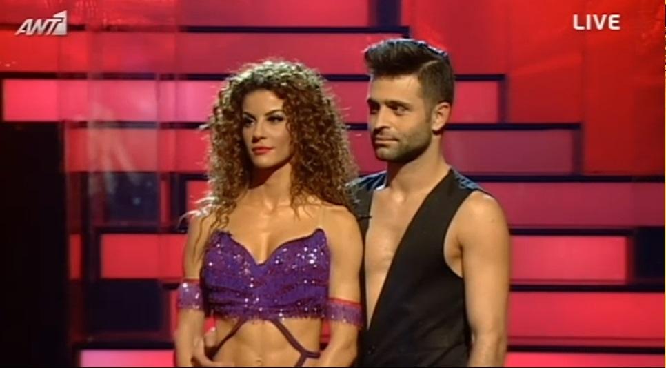 Στον τελικό του Dancing With The Stars 5 η Ειρήνη Παπαδοπούλου!
