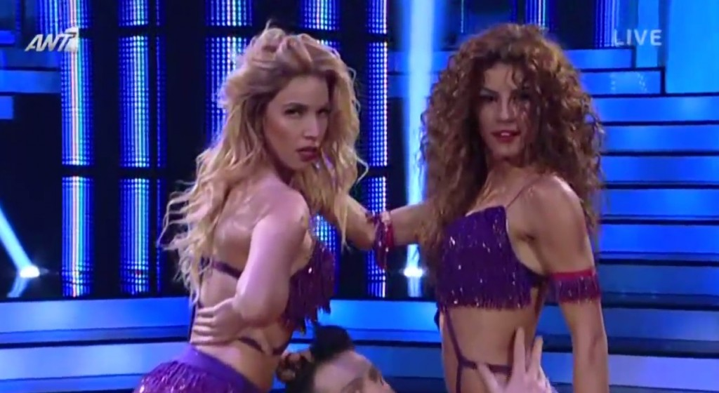 Sexy! Δείτε τον καυτό χορό της Κατερίνας Στικούδη με την Ειρήνη Παπαδοπούλου στον ημιτελικό του Dancing!