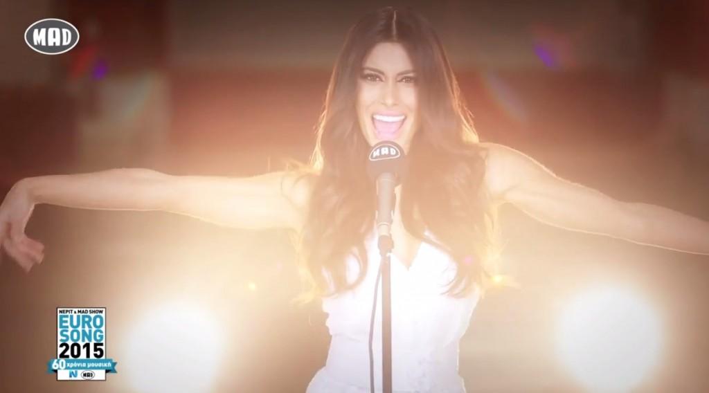 Eurovision 2015: Θωμαή Απέργη & Legend - Jass και συρτάκι