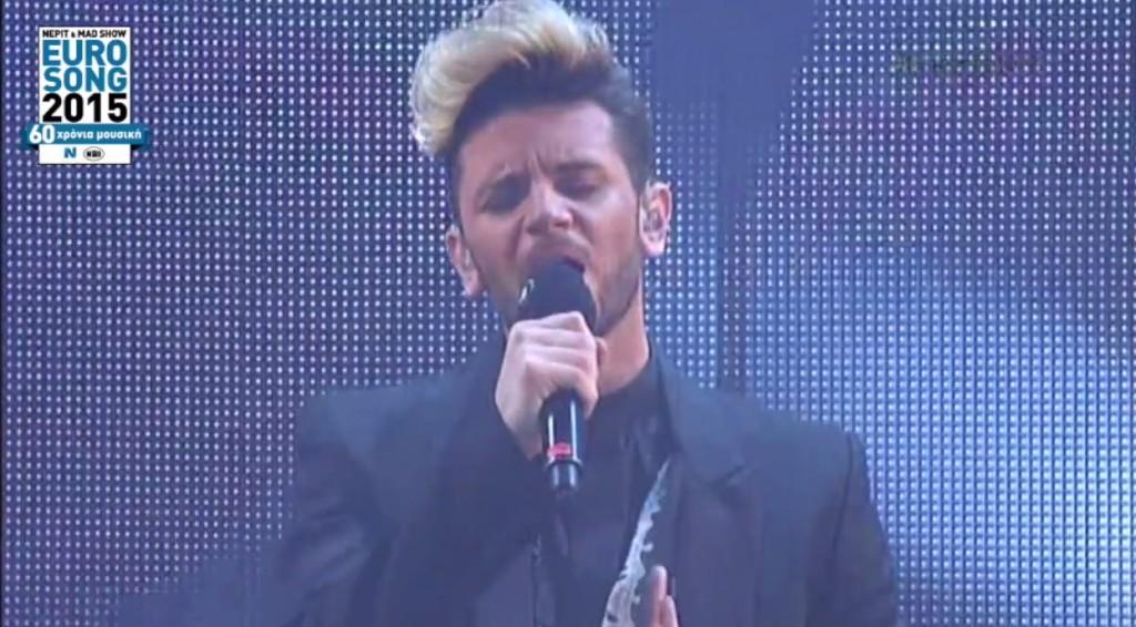 """Η εμφάνιση του Barrice με το """"Ela"""" στο Eurosong 2015!"""