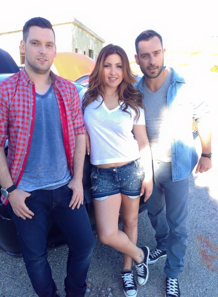 """Έλενα Παπαρίζου και HouseTwins γύρισαν το βίντεο κλιπ του """"Love Till It's Over"""""""