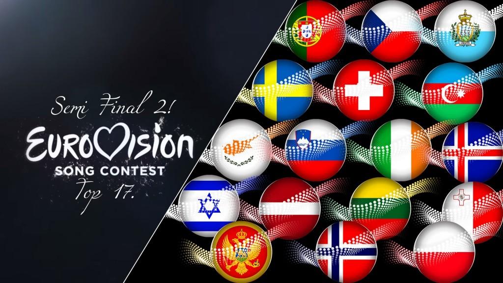 Eurovision: 2ος ημιτελικός - Δείτε τη σειρά εμφάνισης των χωρών, και ποια είναι τα φαβορί για πρόκριση