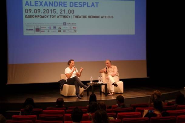 """Alexander Desplat: """"Έχω επηρεαστεί από το Μάνο Χατζιδάκι και τον Μάρκο Βαμβακάρη"""""""