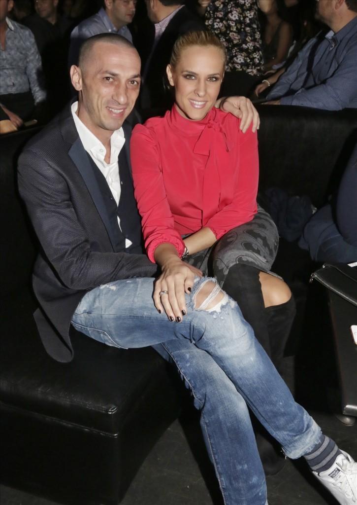 Η Έλενα Ασημακοπούλου με τον Μπρούνο Τσιρίλο