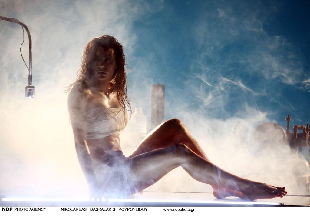 Αμαρτία - Ειρήνη Παπαδοπούλου Backstage photos