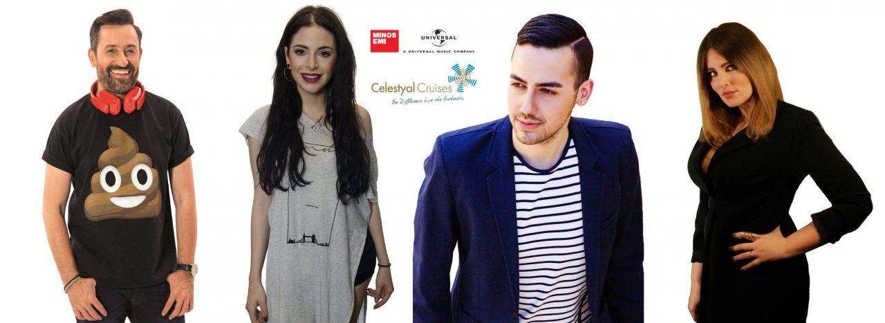 """""""Ιστορίες Ελληνικού Καλοκαιρινού Φεστιβάλ"""": Ζήσε την εμπειρία ενός talent show σε κρουαζιέρα στο Αιγαίο"""