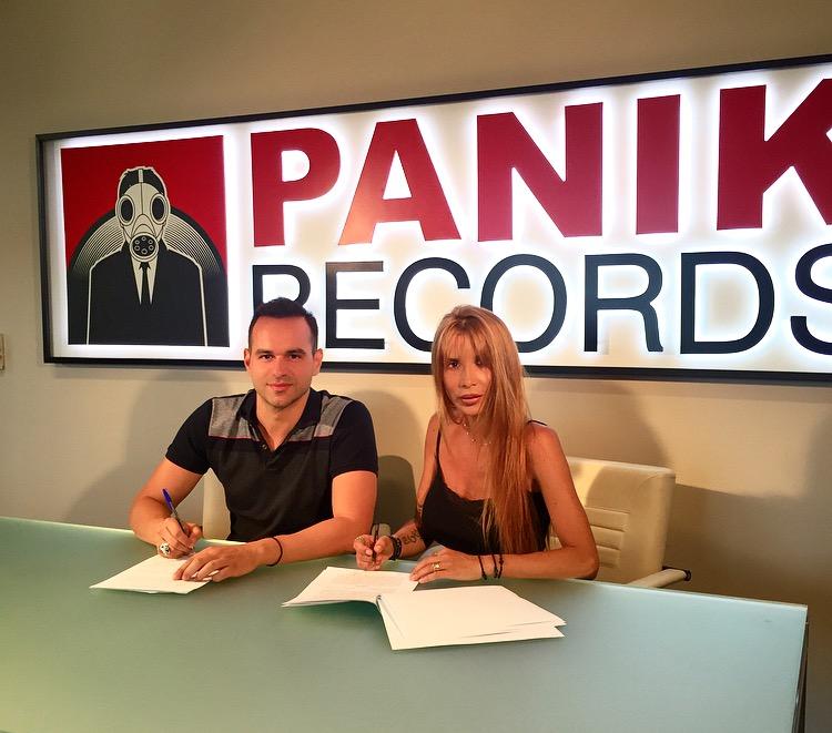 Πάολα: Υπέγραψε στην Panik Records!