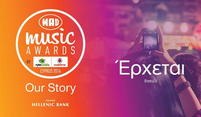 Mad Music Awards Cyprus 2016