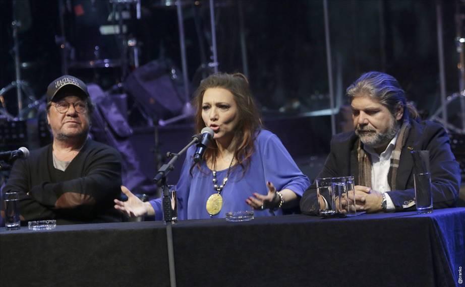 Γιάννης Πάριος - Ελένη Βιτάλη: Συνέντευξη Τύπου για την Ιερά Οδό