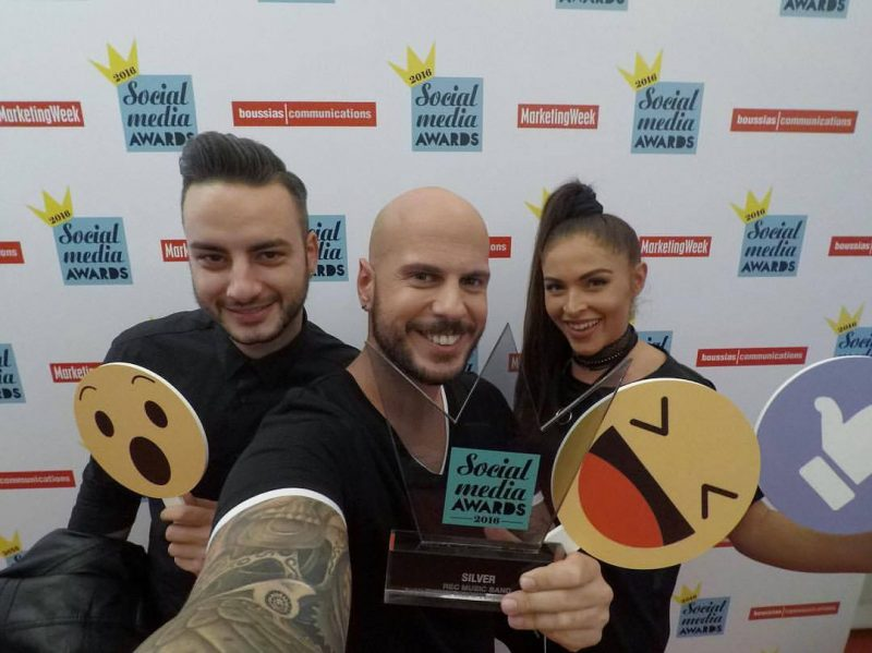Οι Rec για δεύτερη συνεχόμενη χρονιά κατακτούν το Silver Award στα Social Media Awards 2016