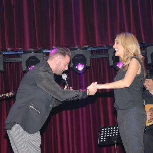 Η Νατάσα Θεοδωρίδου ευχαριστεί τη Θεσσαλονίκη