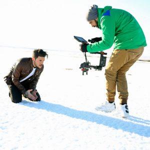 BackStage φωτογραφίες από το video clip του Stan (1)
