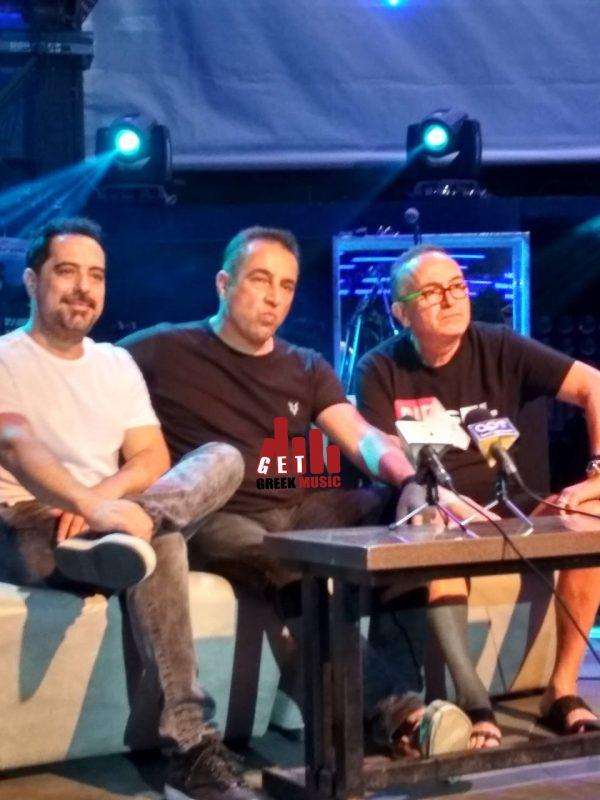 Γονίδης, Δημάκης, Χρυσοχοΐδης μιλούν στο GetGreekMusic (4)