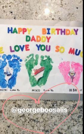 Η έκπληξη της Καλομοίρας στο Γιώργο για τα γενέθλια του