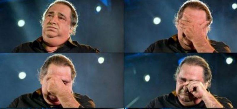 Ξέσπασε σε κλάματα ο Βασίλης Καρράς