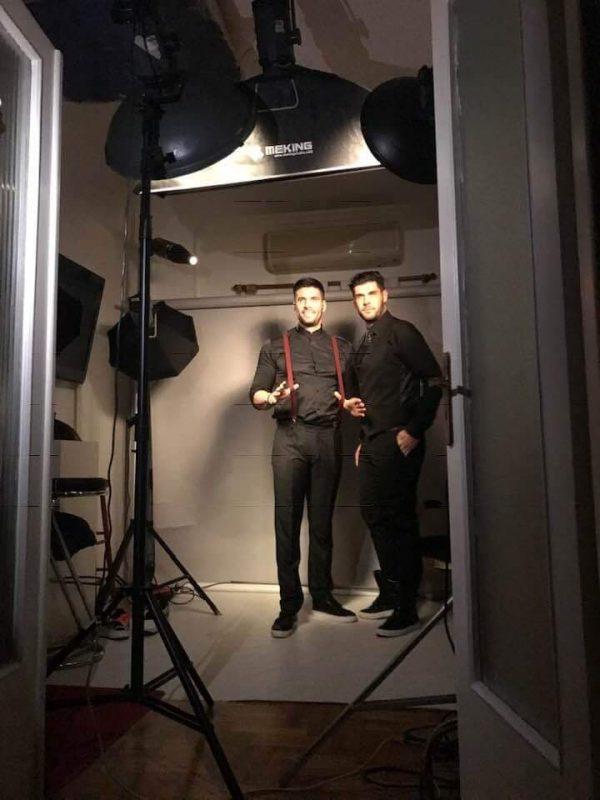 Chic και sexy οι Droulias Brothers